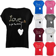 Plus Size Womens Ladies Loose Direct Sleeve Printed Oversized Hi Lo T Shirt Top