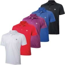 Wilson Staff Hombre Ws Performance Manga Corta Tech Polo de Golf