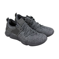 Skechers Drafter Mens Gray Textile Athletic Lace Up Training Shoes