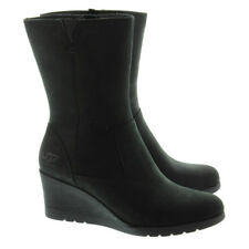 Nuevo Ugg Joely Negro Botas Impermeables Cremallera Nieve 1012528 Mujer Talla 10