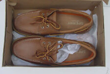 Nib Sperry Top-Sider Charter Ponte Della Barca Scarpe 2-Eye Marrone Scuro da