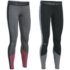 Under Armour Mujer Favorito Dibujo Legging Gimnasio Yoga Entrenamiento Capa Base