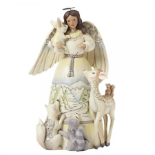 NEW Christmas Angel Peace To All Figurine - Heartwood Creek By Jim Shore