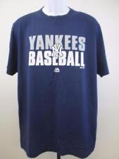 d6f165396 New NY new York Yankees Baseball Mens Sizes M-L-XL-2XL Majestic Soft Shirt