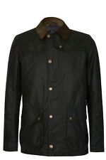 BARBOUR WIGHT WAX JACKET JACKET WAXED ML XL INSERTS WOOL COAT JACKET