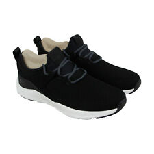 Skechers Nichlas Lishear Mens Black Mesh Athletic Lace Up Training Shoes