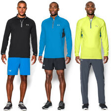 Under Armour Hombre Ua Launch 1/4 Zip Jersey Run Entrenamiento 26% sin Mangas