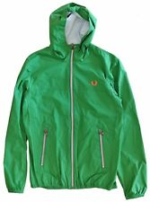 Giacca Giubbotto Kway Impermeabile Fred Perry Uomo Verde Jacket Man Green