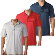 Adidas Golf Hombre Climacool Geo Space Performance Tech Polo