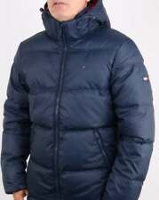 Tommy Hilfiger Down Jacket in Navy Blue - puffer, puffa, padded coat, hooded