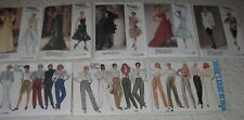 Your Choice One VOGUE Misses Pattern-See Pictures & Menu for Choices-Pants,dress