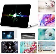 "Laptop Hard Case Keyboard Rubber Cover LCD Film for New Macbook Pro 13""/15"" 2018"