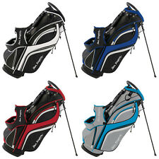 "Ben Sayers Golf DLX Stand Bag New Carry Bag 14 Way Top 8.5"" Divider Dual Strap"