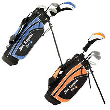 Ben Sayers Golf Junior M1i Package Set New Kids Youth Clubs Stand Bag Dual Strap