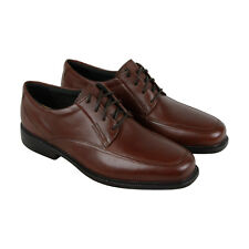 Bostonian Ipswich Mens Brown Leather Casual Dress Lace Up Oxfords Shoes