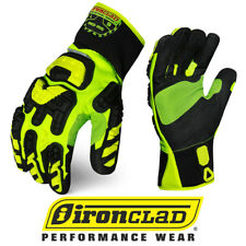 Ironclad INDI-RIG Industrial Impact Rigger Oil & Gas Safety Gloves 12 Pair Case