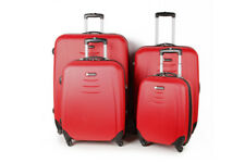HARD SHELL TRAVEL LUGGAGE SUITCASE 4 WHEEL SPINNER TROLLEY CASES LIGHTWEIGHT