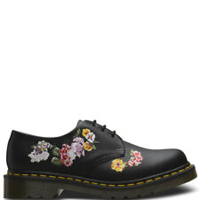 Ladies Dr Martens 1461 II Vonda Embroidered Work Smooth Leather Shoes All Sizes