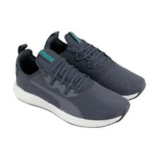 Puma Nrgy Neko Sport Mens Gray Textile Athletic Lace Up Running Shoes