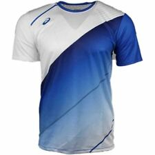 ASICS Matchplay Jersey - Blue;White- Mens