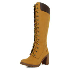 Bottes Timberland femme Allington 14'' Side Zip Lace Up Boot Wheat Nubuck taille