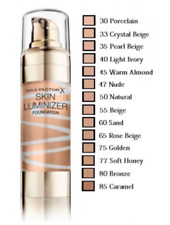 MAX FACTOR SKIN LUMINIZER MIRACLE FOUNDATION  (CLEAR LID CYLINDER) * CHOOSE *