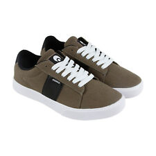 Osiris Rebound Vlc Mens Brown Canvas Lace Up Sneakers Shoes