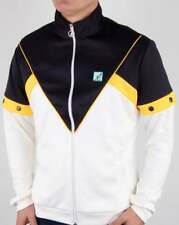 Australian by l'Alpina Pop Off Sleeve Track Top in White & Navy tracksuit jacket