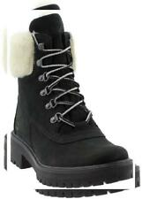 Timberland Womens Courmayeur Valley Shearling-Lined Boot Fur Leather Comfort