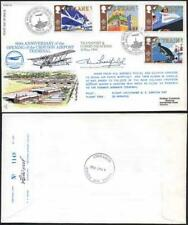 RFDC63 Transport and Communications Full set of 4 Signed by Peter Masefield