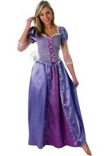 Ladies Deluxe Disney Princess Rapunzel Fancy Dress Costume all sizes