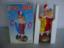 *BRAND NEW* 1970's UNCE JOEY Battery operated Clown Rolls Twirls IC Music MoMore