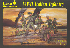 CAESAR Miniatures 1-72 -- World War II SERIE HISTORY TOY-SOLDIERS MADE TAIWAN