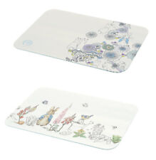 NEW Peter Rabbit Glass Worktop Chopping Board Kitchen Space Saver Protector Gift