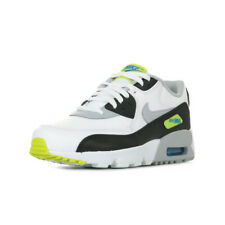 Chaussures Baskets Nike unisexe Air Max 90 Leather (GS) taille Blanc Blanche