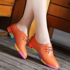 new breathable genuine leather flats shoes woman sneakers nurse peas