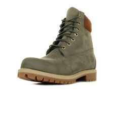 Chaussures Boots Timberland homme 6IN Premium taille Vert olive Verte Nubuck