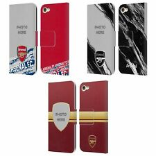 CUSTOMISED ARSENAL FC 2018/19 PHOTOS LEATHER BOOK CASE FOR APPLE iPOD TOUCH MP3