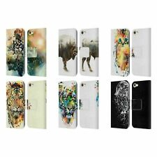 OFFICIAL RIZA PEKER ANIMALS 2 LEATHER BOOK WALLET CASE FOR APPLE iPOD TOUCH MP3
