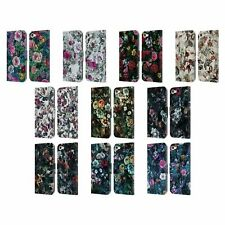 OFFICIAL RIZA PEKER FLOWERS 4 LEATHER BOOK WALLET CASE FOR APPLE iPOD TOUCH MP3