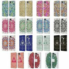 OFFICIAL CAT COQUILLETTE MANDALA LEATHER BOOK CASE FOR ASUS ZENFONE PHONES