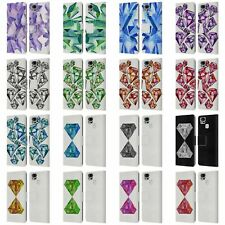 CAT COQUILLETTE WATERCOLOURED GEMS LEATHER BOOK CASE FOR ASUS ZENFONE PHONES