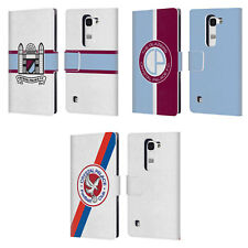 OFFICIAL CRYSTAL PALACE FC 2016/17 BADGE LEATHER BOOK CASE FOR LG PHONES 2