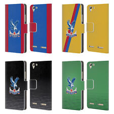 OFFICIAL CRYSTAL PALACE FC 2016/17 KIT LEATHER BOOK CASE FOR LENOVO PHONES
