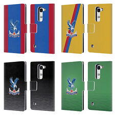 OFFICIAL CRYSTAL PALACE FC 2016/17 KIT LEATHER BOOK WALLET CASE FOR LG PHONES 2