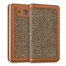 FUNDA-CARTERA TIPO DONNA PARA SAMSUNG GALAXY A5 (2015) FUNDA TIPO FLIP TWEED