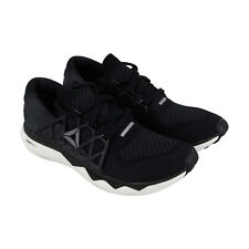 Reebok Floatride Run Ultk Mens Black Mesh Athletic Lace Up Running Shoes