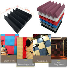 1PC Acoustic Foam Panel Sound Stop Absorption Sponge Studio KTV Soundproof Pad