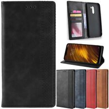 Case for Xiaomi Pocophone F1 Cover Leather Flip Stand Wallet Magnetic Card Slots
