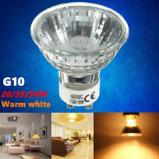 2/4/6/8pcs GU10 20W/35W/50W Halogen Warm White Long Life Light Bulb 220-240V